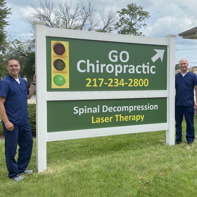 Chiropractor Mattoon IL Jamie Stephens and Chris Dreas